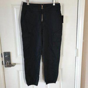 NWT Material Girl Cargo Pants Black